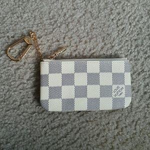 Louis Vuitton Damier Azur Coin  pouch accessory